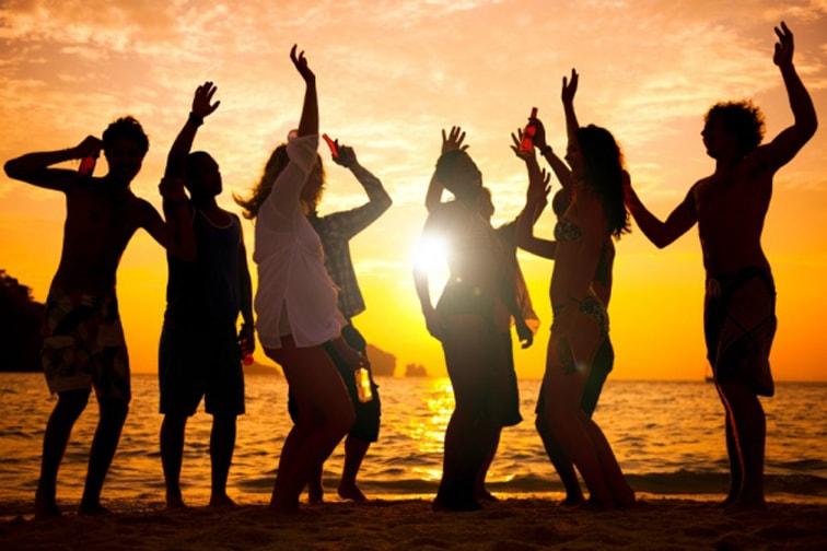 Beach Party na rejsie w Chorwacji