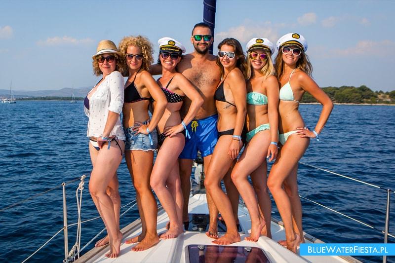 Uczestnicy BlueWaterFIesta w Chorwacji