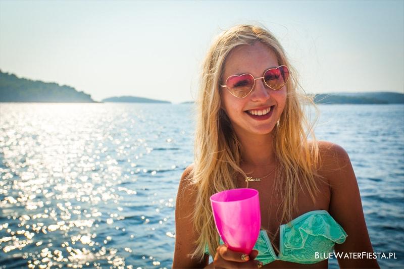 Uczestniczka Blue Water Fiesta w Chorwacji