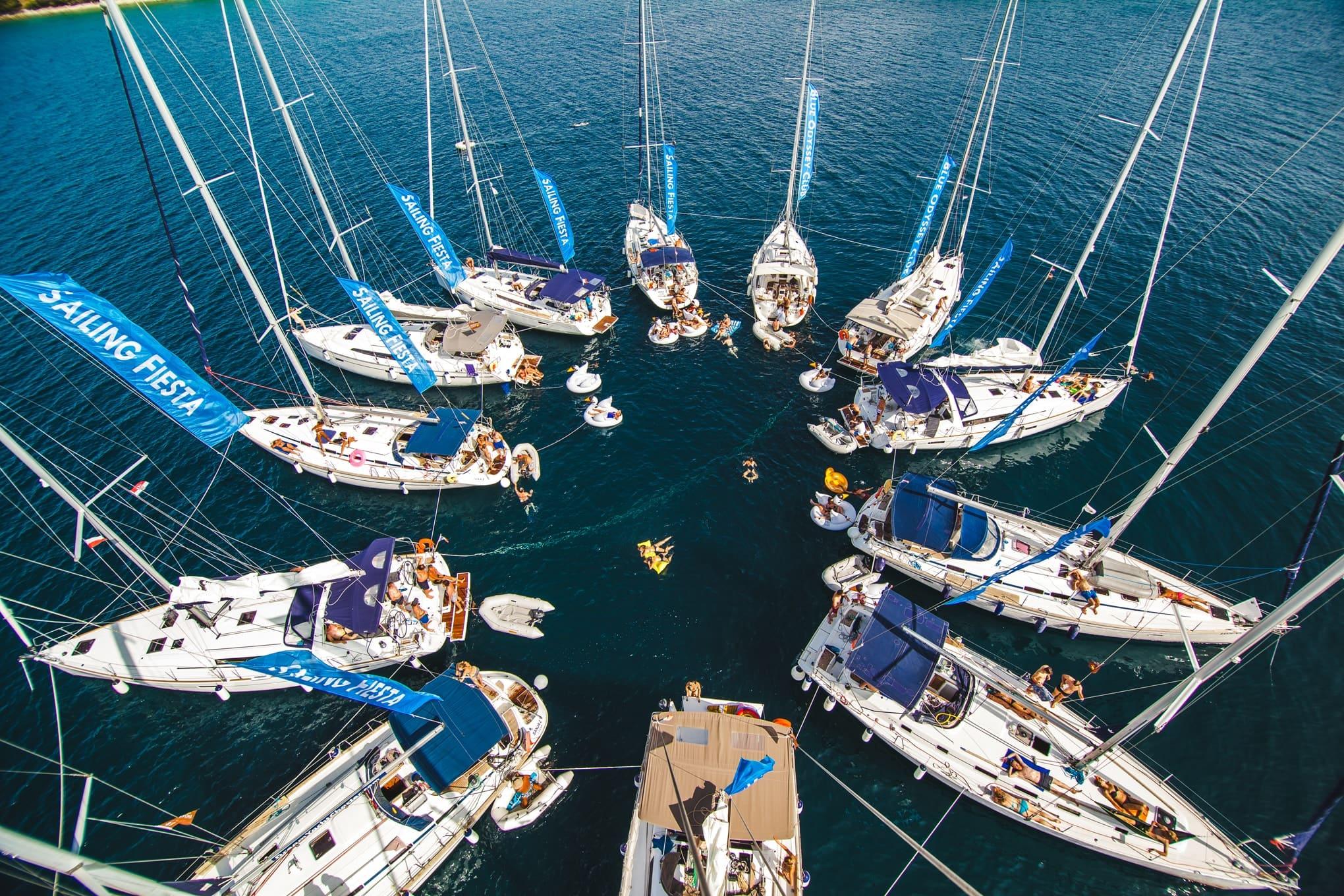 Jachty Blue Water Fiesta