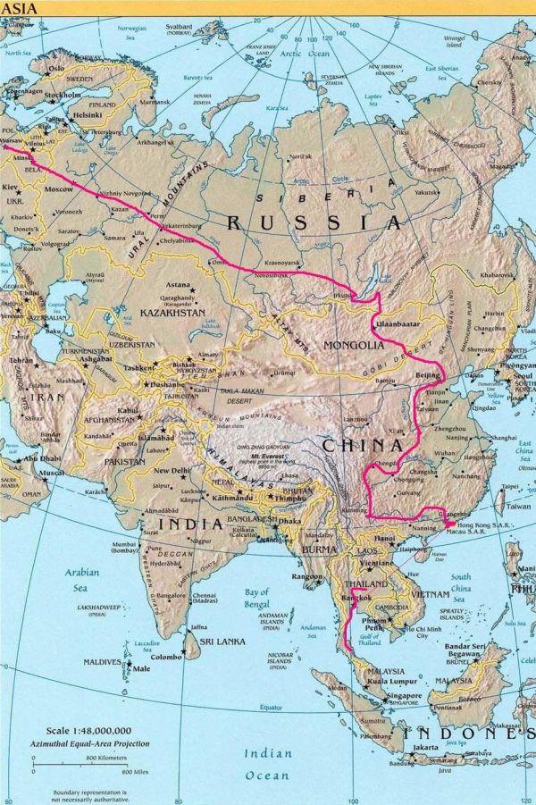 Wyprawa do Azji 1