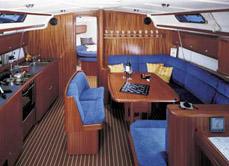 Rejsy Grecja - jachty - wnetrze