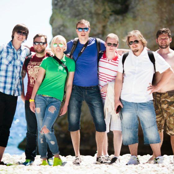 Ekipa majówkowego rejsu w Chorwacji