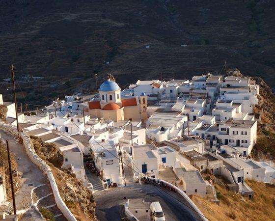 Grecka zabudowa budynków