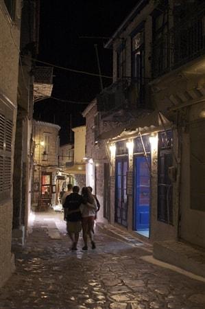 Spacer greckimi uliczkami