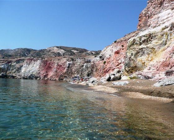 Klify górskie w Grecji