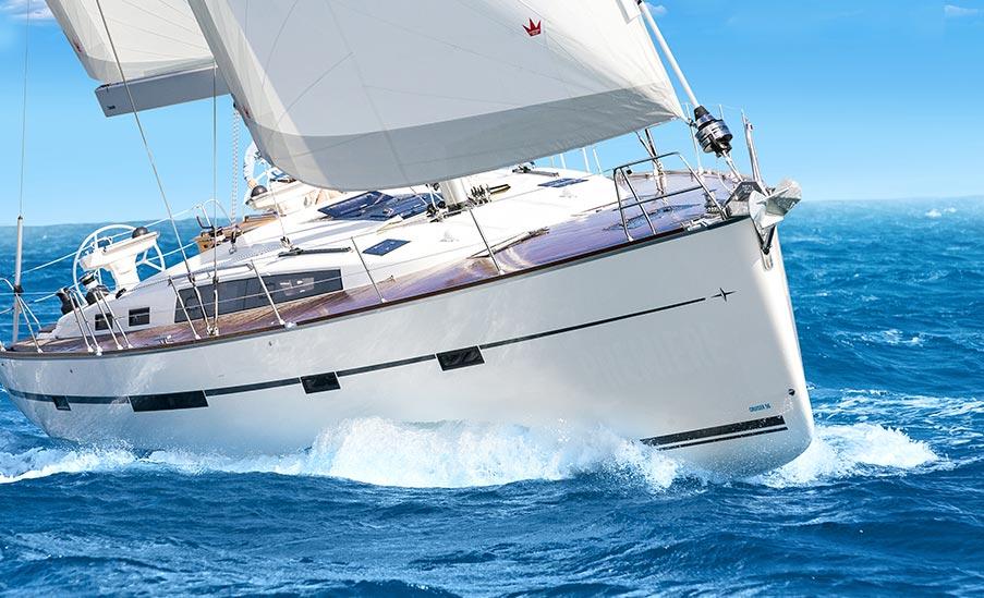 Jachty na rejsach w Grecji
