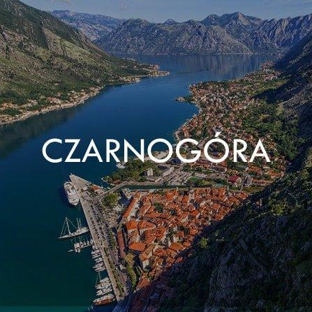 Rejsy w Czarnogórze