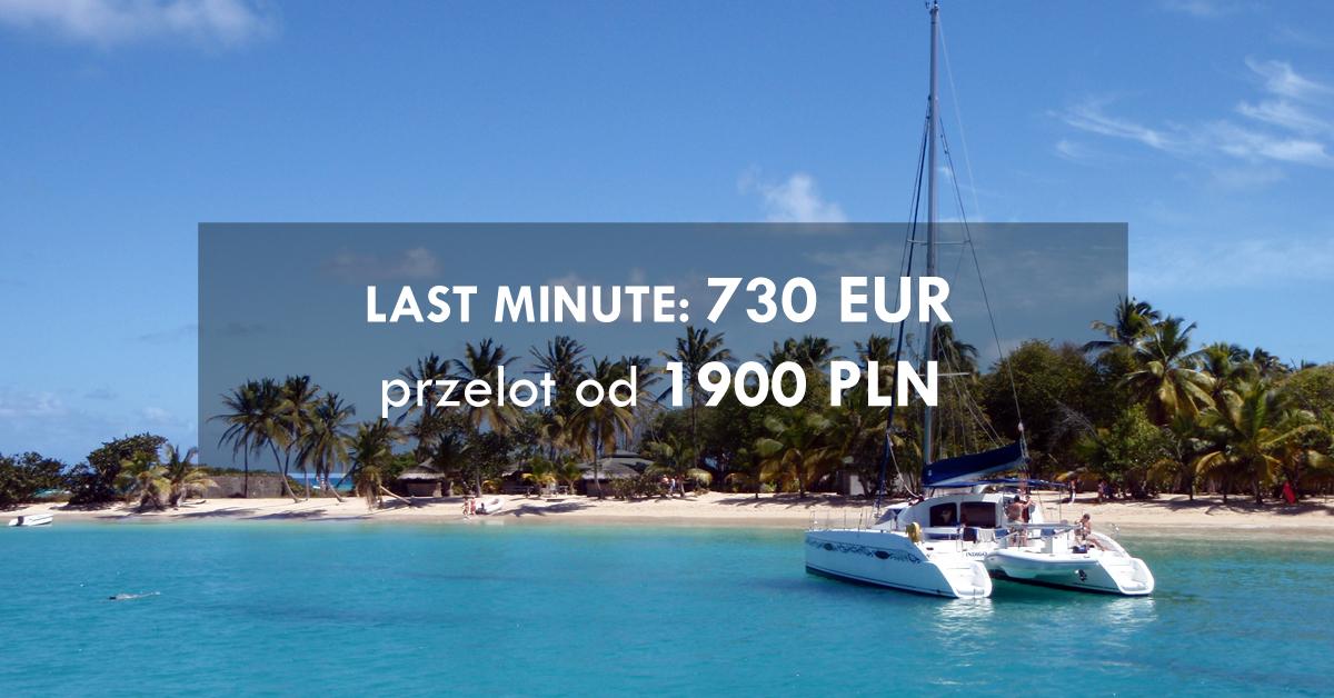 Last Minute 730EUR przelot od 1900PLN