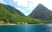 Karaiby St Lucia Piton