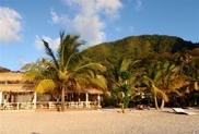 Plaża w St Lucia podczas rejsu po Karaibach