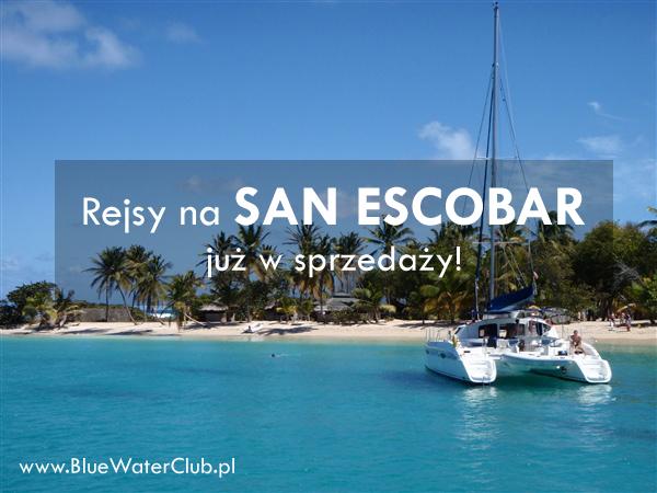 San Escobar rejsy Karaiby