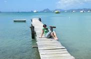 Załogantka rejsu po Karaibach