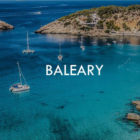 Rejsy po Balearach (w Hiszpanii)